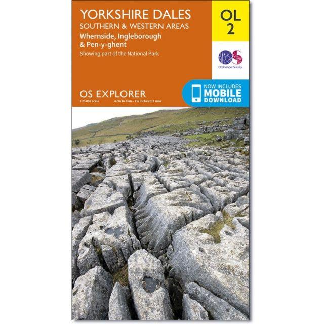 OL02 Yorkshire Dales - Southern & Western Area Ordnance Survey