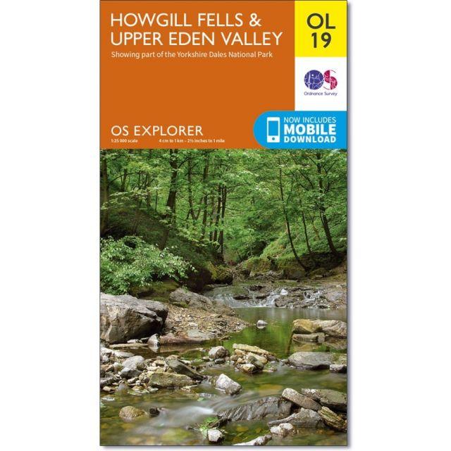 OL19 Howgill Fells Upper Eden Valley Ordnance Survey