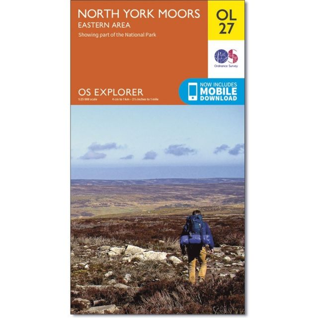 OL27 North York Moors - Easter area Ordnance Survey