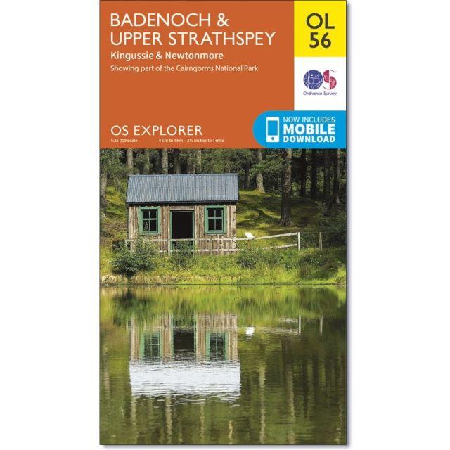 OL56 Badenoch and Upper Strathspey Ordnance Survey