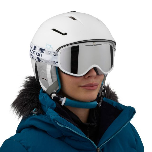 Salomon Womens ICON² M Ski Helmet