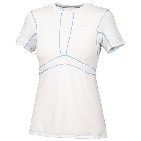 Columbia Womens Base Layer Lightweight Short Sleeve Top