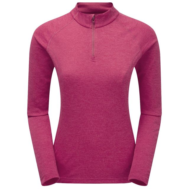 Montane Women's Dart Zip Neck Base Layer