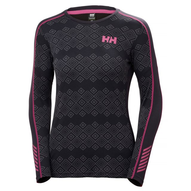 Helly Hansen Women's Lifa Active Graphic  Base Layer Top