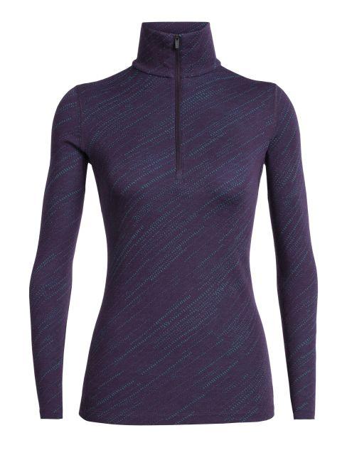 Icebreaker Womens 250 Vertex Long Sleeve Half Zip Top