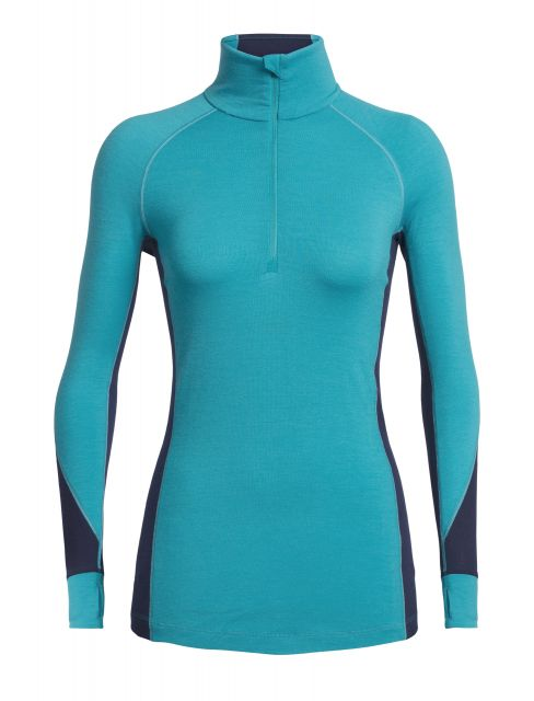 Icebreaker Womens 260 Zone Long Sleeve Half Zip Top