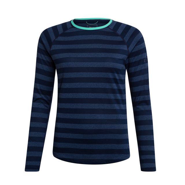 Berghaus Womens Stripe Technical Long Sleeve T-Shirt 2.0