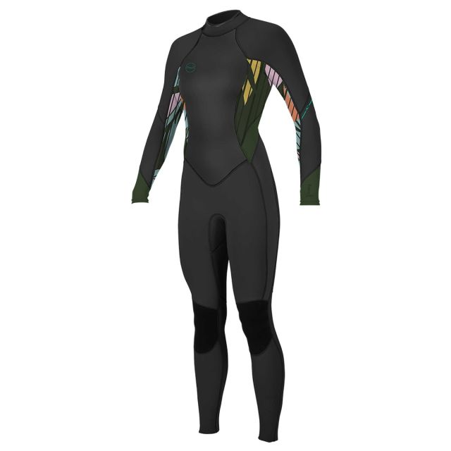 O'NEILL WOMENS BAHIA 3/2MM BACK ZIP FULL WETSUIT FRONT IMAGE
