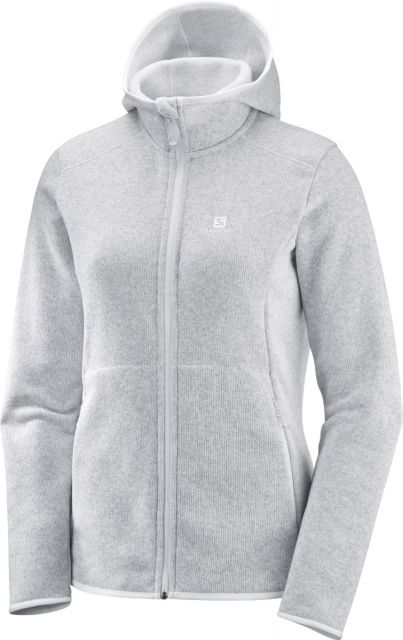 Salomon Womens Bise Hooded Fleece