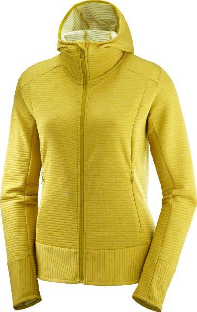 Salomon Womens Right Nice Mid Hooded Fleece