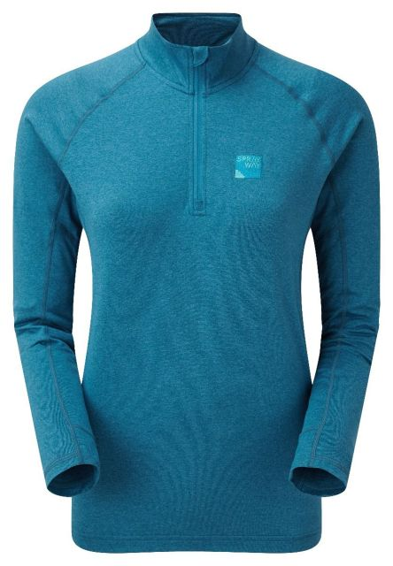 Sprayway Womens Rissa Half-Zip Fleece