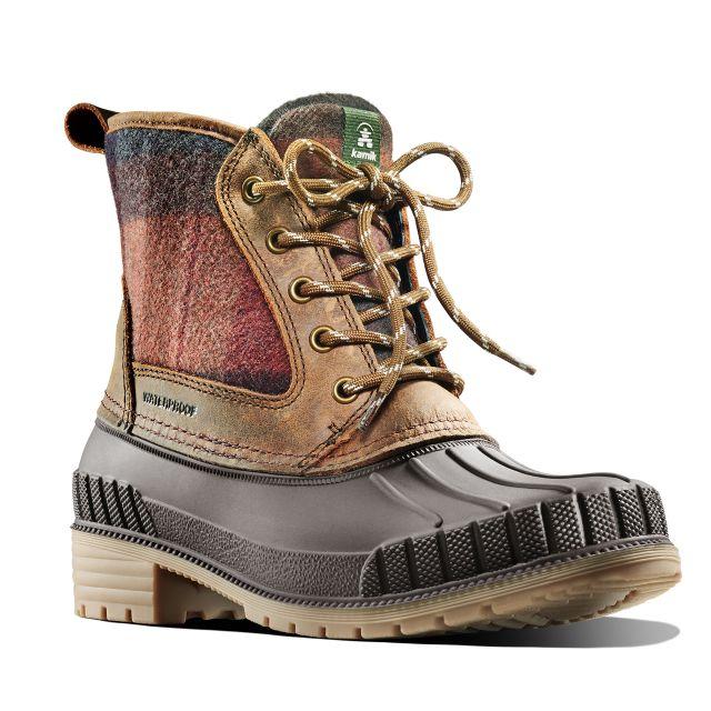 Kamik Womens Sienna Mid Length Waterproof Winter Boots