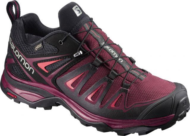 Salomon Womens X Ultra 3 Gore-Tex Walking Shoes