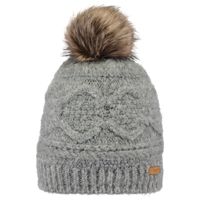 Barts Womens Antonia Turn Up Bobble Hat