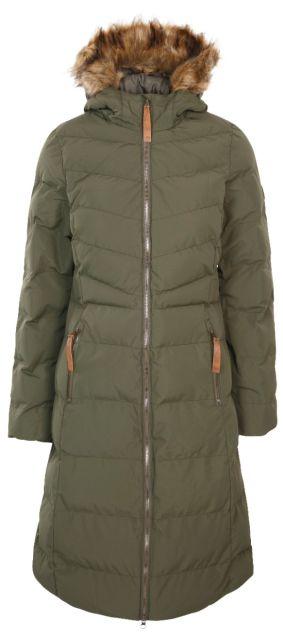 Trespass Womens Audrey Padded Long Jacket