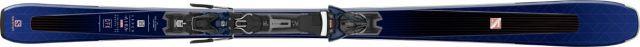Salomon Womens E AIRA 80 TI Skis + Z10 GW L80 Ski Bindings