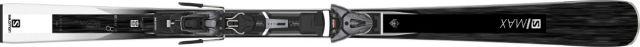 Salomon Womens E S/MAX W 8 Skis + Z10 GW L80 Ski Bindings