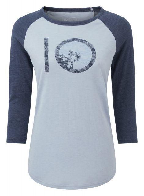 Tentree Womens Aspect Ten 3.25 Long Sleeved T Shirt