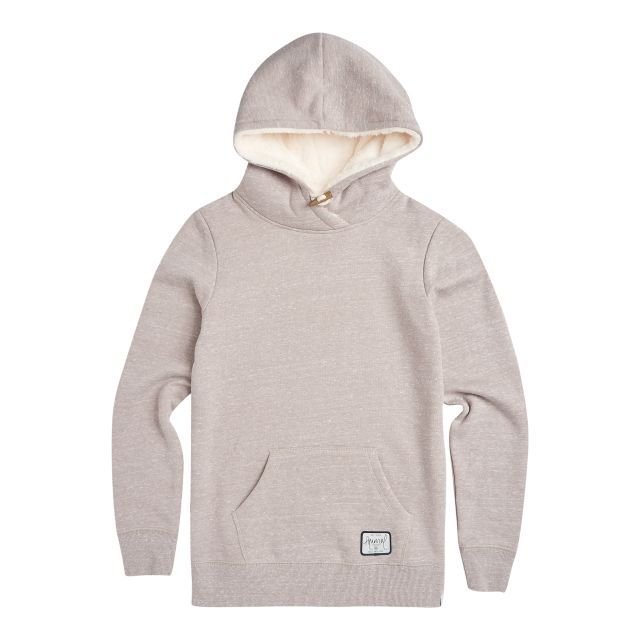 Animal Womens Stitched Borg Lined Hoodie