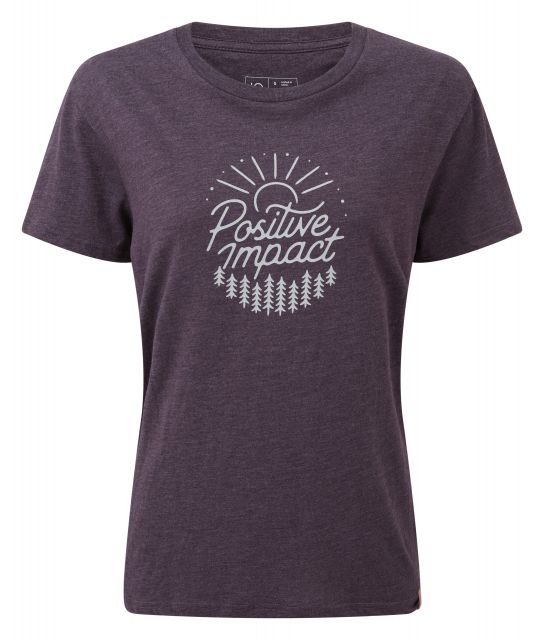 Tentree Womens Positive Impact T Shirt