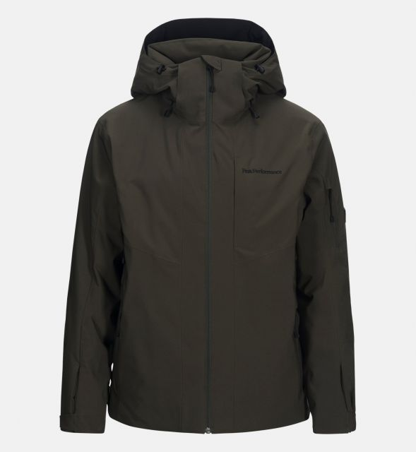 Peak Performance Mens Maroon Ski Jacket