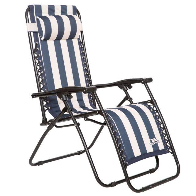 Trespass Glentilt Reclining Sun Lounger Camping Chair