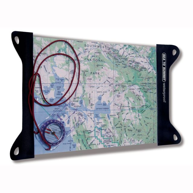Sea to Summit TPU Guide Map Case Large