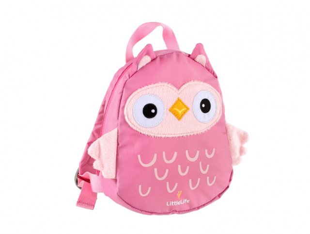 LittleLife Owl Toddler Backpack with Rein