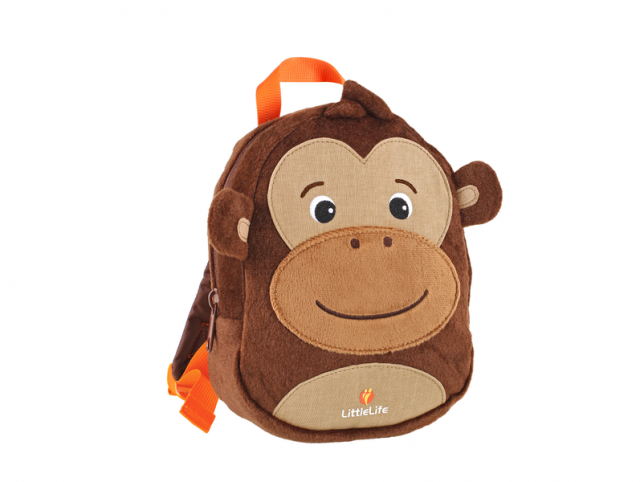LittleLife Monkey Toddler Backpack with Rein