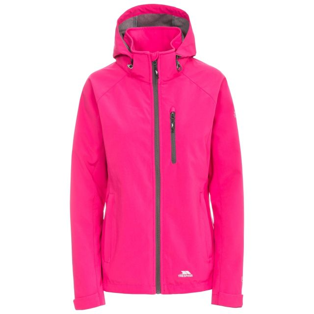 Trespass Women's Lorina Softshell Hooded Jacket
