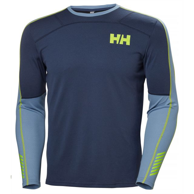 Helly Hansen Men's Lifa Active Graphic Crew Neck Base Layer