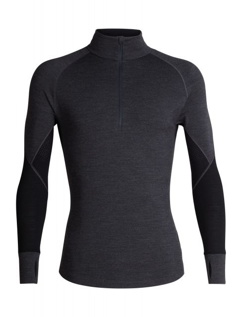 Icebreaker Mens 260 Zone Long Sleeve Half Zip Crew Top