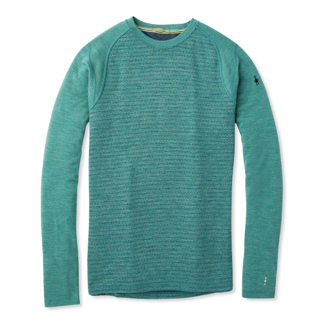 Smartwool Men's Merino 250 Pattern Crew Neck Base Layer
