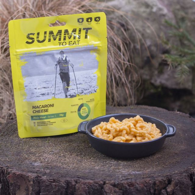 Summit To Eat Macaroni Cheese Camping Food