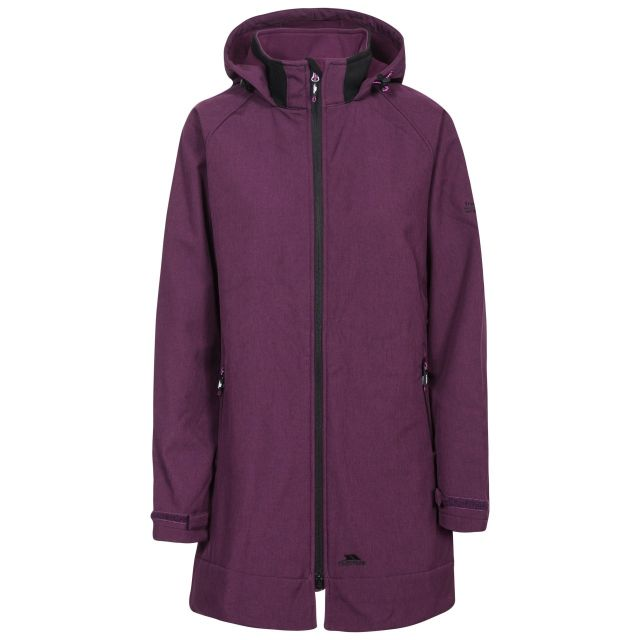 Trespass Women's Maeve Long Length Softshell Jacket