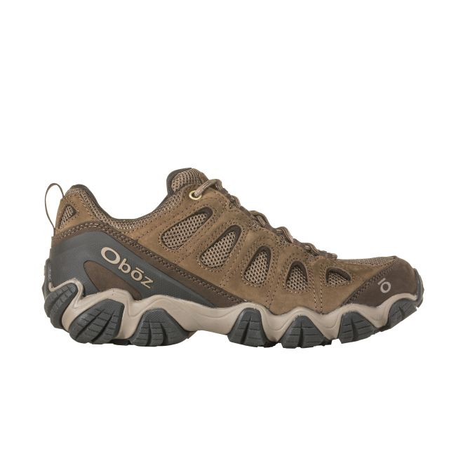 Oboz Mens Sawtooth Low Waterproof Walking Shoes