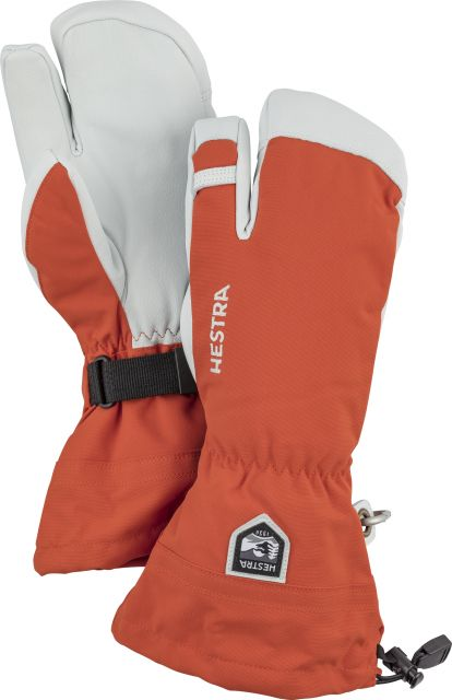 Hestra Mens Army Leather Heli Ski Mittens