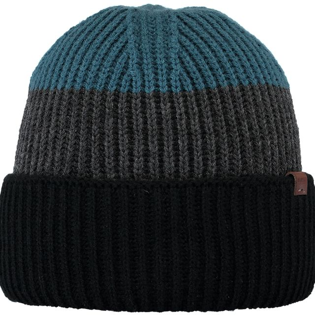 Barts Mens Tholf Turn Up Beanie Hat