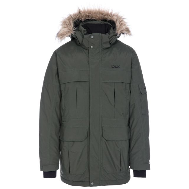 DLX Men's Highland Waterproof Down Parka Jacket