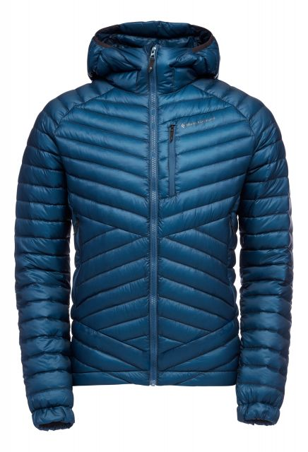 Black Diamond Mens Approach Down Hooded Jacket