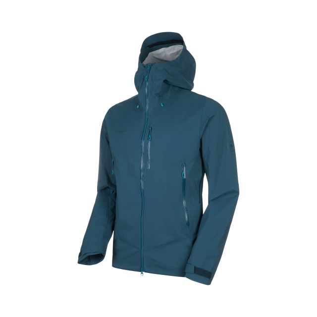 Mammut Mens Kento HS Hooded Waterproof Jacket