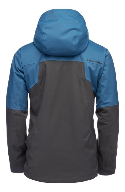 Black Diamond Mens Boundary Line Mapped Insulated Jacket