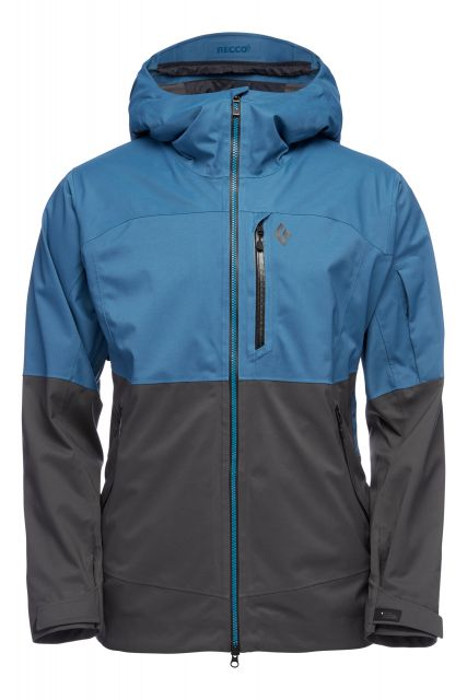 Black Diamond Mens Boundary Line Mapped Insulated Jacket