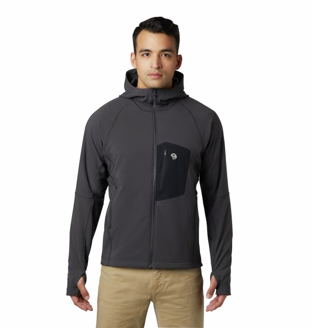 Mountain Hardwear Mens Keele Hooded Jacket