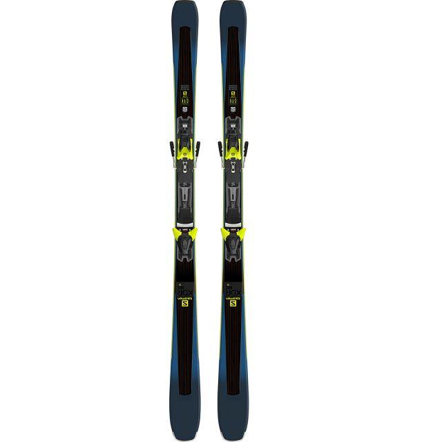 Salomon E XDR 80 Ti + Z12 Walk F80 Skis