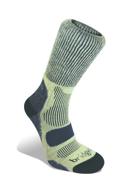 Bridgedale Mens Light Cotton Cool Hiking Socks