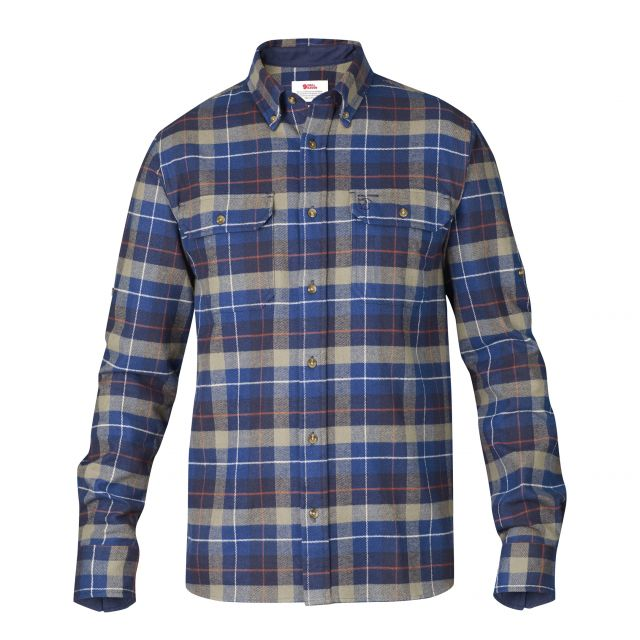 Fjallraven Mens Singi Heavy Flannel Shirt