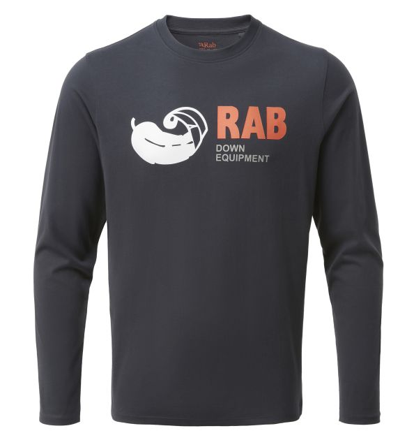 Rab Mens Stance Vintage Long Sleeve T Shirt