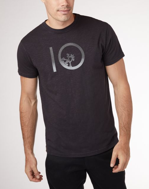Tentree Mens Gradient Ten T Shirt