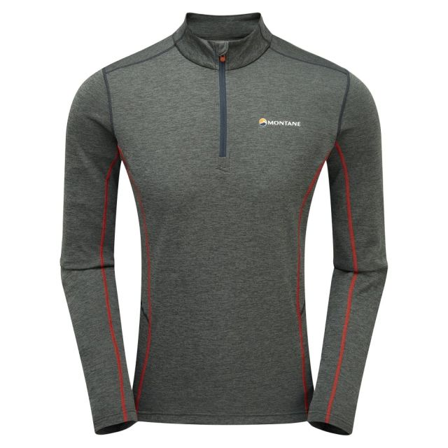 Montane Men's Dart Zip Neck Baselayer